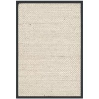Woven of sisal and featuring a contrasting border, this classic rug brings breezy appeal to any space. Try letting it anchor a beach-chic living room seating group, or add it to the master suite to complement an all-white bedding ensemble.