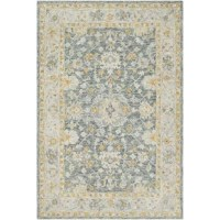 These pieces exquisitely blend vintage and contemporary sensibilities of style to create designs that will last through the ages. This meticulously woven rug will provide a durable and natural sense of style to your decor space.