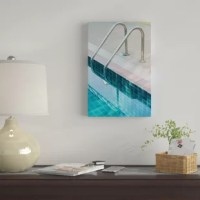 The artwork is crafted with 100% cotton artist-grade canvas, professionally hand-stretched and stapled over pine wood bars in gallery wrap style. A method utilized by artists to present artwork in galleries. Fade-resistant archival inks guarantee perfect color reproduction that remains vibrant for decades even when exposed to strong light. Add brilliance in color and exceptional detail to your space with the contemporary and uncompromising style of East Urban Home.