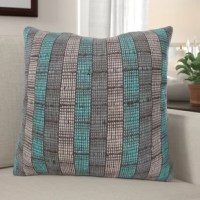 Bring the elegance and light off to your home with this woven handspun throw pillow. this throw pillow has an envelope closure and is handwoven with hand-spun silk.