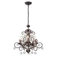 Loreen 5-Light Candle Style Classic / Traditional Chandelier