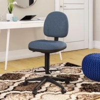 Home offices, classrooms, labs, libraries – the list goes on of all the places this drafting chair comes in handy. Its casual look works well in residential and professional settings, while the ergonomic design offers a supportive seat to whoever's sitting on it. A built-in footrest and 360° swivel provide a cozy seating experience, and a pneumatic adjustment raises the seat from a minimum height of 22'' up to 32''. Plus, the caster base plays nice with hardwood and vinyl flooring.