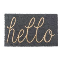 Greet your guest with style. You will be able to find one that is just right for your home year-round or swap out for a seasonal design. Durable and non-slip, this door mat is capable of withstanding harsh conditions. The last thing you want your door mat to do, when your boots are muddy, is to slip out from under you. This door mat will remain in place and absorb any mud tracked by your boots. This door mat can withstand extreme heat and extreme cold and stay in place no matter the conditions.