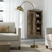 Illuminate your space in simply-chic mid-century modern style with this 63.5