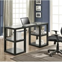 "Add a more substantial, yet elegant, desk to your home office with the Parsons Deluxe Computer Desk. This Desk has the classic feel of a parsons desk, but with the added bonus of extra storage down the double pedestal sides. This Desk features 2 storage cubbies on each side of the Desk to hold all your office necessities such as books, binders and supplies. This desk measures at 32""h x 60""w x 21 5/8""d, giving you plenty of space to stay organized while working from home. The laminated..."