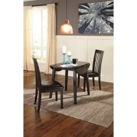 You might be short on space, but you can still longfor style. If contemporary tantalizes your taste buds, savor the beauty of this sleek Milton Drop Leaf Dining Table. Dark and dramatic, it packs plenty of appeal into a compact design.