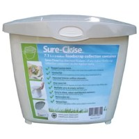 The Sure Close 1.9 Gallon Touch Top Scrap Collection Pail is well engineered as a highly useful product. The design features are many including function and ergonomic considerations. Sure-Close makes the collection of kitchen waste easy and effective. The whole family will gladly use it. Because it is made of durable plastic it will last for years to come.
