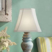 If something's feeling a little stale in your home, it could be your lampshades. Believe us or not, sometimes refreshing your home's look is as simple as flipping the switch on a fresh shade. For example, this 12'' rectangular bell shade is a great option for adding a curving look to your luminary for a perfect traditional touch. Crafted from silk, this piece caps a variety of lamps with eye-catching style. A metal fitter in a brass finish completes this shade. This lampshade is perfect for...