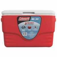 Take your meal to go-to to a campsite, picnic or game in this heavy duty cooler.
