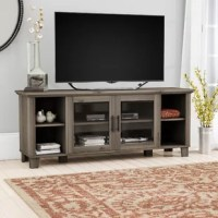 Anchor your entertainment space in rugged, yet refined style with this 58