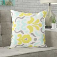 Simplicity is the ultimate sophistication. With its clean and modest design, our colorful throw pillow perfectly encompasses this idea. Created with intricate hand-crafted details and a brilliant abstract design, this throw pillow brings the finishing touches to your home that you never knew you needed.