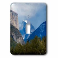 Yosemite Valley 1-Gang Toggle Light Switch Wall Plate is made of durable scratch resistant metal that will not fade, chip or peel. Featuring a high gloss finish, along with matching screws makes this cover the perfect finishing touch.