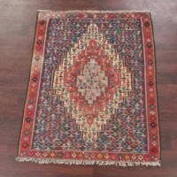 This is a beautiful genuine area rug that is hand woven by skillful weavers in central Asia with 100% wool material.