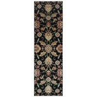 This rug showcases timeless design in fresh colors of alabaster, true red, deep Atlantic blue, and black with accents of Wedgewood, terracotta, soft gold, and sage. These traditional patterns and time-honored classics simplified for today's more relaxed yet sophisticated interiors.