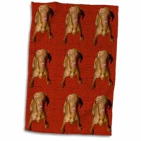 Vizsla Puppy Hand Towel is great to use in the kitchen, bathroom or gym. This hand sports towel allows you to customize your room with a special design or color. Great for drying dishes, hands, and faces. Suitable to put in any sports bag. The image will not fade after washing. Machine wash, tumble dry low, do not bleach. The towel will regain its fullness after the first washing.
