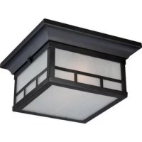This classic style design gets added warmth from the frosted seed glass panes, while the stone black finish accentuates the crisp, clean lines. This is a classic that's comfortable on many homes.