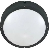 Crafted from heavy die-cast aluminum has a white Lexan shield that creates a pleasing, welcoming glow. Featuring a dusk-to-dawn photocell that helps save you the effort of manual operation, this reliable fixture is treated with a matte finish.