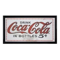 Brighten up your home bar, man cave or garage space with this Coca-Cola LED Marquee Sign. Whether you are a collector of all things Coca-Cola or just appreciate the fun and unique novelty lighting, this sign will make the perfect companion for your vintage-themed decor. This dynamic and attention-grabbing signage is perfect for adding vintage personality to any space. Offering bright and bold red lights, with a blinking border of and the center logo remaining stationary when lit up, this sign...