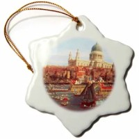 This ornament is a perfect addition to your tree or as a window decoration. It is a great gift for family and friends, commemorating each holiday or special occasion. Image printed on both sides; measures 3