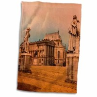 This hand towel is great to use in the kitchen, bathroom or gym. This towel allows you to customize your room with a special design. Great for drying dishes, hands and faces. Suitable to put in any sports bag.