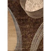A wonderful option to place in your living room, this Chocolate Area Rug is sure to be the focal point of your room. Machine-made from 100% polypropylene, this area rug has four-side overlocking for added sturdiness and durability. It has beautiful geometric motifs in chocolate that look stunning with most decor styles. This Chocolate Area Rug is fade resistant to ensure years of durable use, without losing its charm. It is available in an array of sizes, which can be chosen to suit the floor...