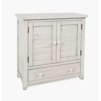 This 2 Door Accent Cabinet has a charming, perfect for that farmhouse or cottage style.You are sure to find the right fit for your space.