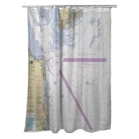 This shower curtain would make a great addition to your home and keeps water in