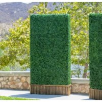 Attention customers: We want to inform you that this product is actually 20 pieces of 20x20 inch hedge panels (four pieces when easily zip-tied together makes 40x40inch). The reason we provide individual pieces is to assure the product is not damaged during transportation due to folding or compression. In the end, we believe that this method produces the best results in preserving the beautiful product you are looking for. If you are looking for a 40x40 inch piece that is shipped as a whole...