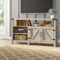 A must-have for living areas and entertainment spaces, this Adalberto TV Stand for TVs up to 65