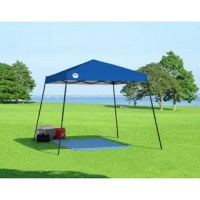 Shade Tech's affordable, quality canopy offers reliable shade where you need it with this reliable slant leg pop-up canopy. Features 3 height positions for variations, a rigid eave construction and shade up to 64 sq. ft. Our Aluminex fabric offer 99% UV protection and the push button sliders with padded levers make this canopy easy to assemble.