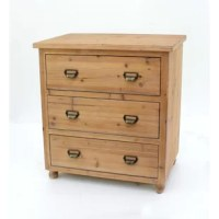 This Wooden 3-Drawer Lateral Filing Cabinet is an ideal piece to bring you an organized tidy office atmosphere. Its natural wooden textured appearance brings fresh woody feeling into your office to create a cozy and relaxed space for you. The quality construction and timeless minimalist design make it an essential addition to any office.