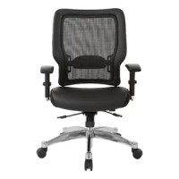 Padded seat options never looked better than with the Ergonomic Mesh Office Chair. Specially tailored bonded leather accompanied by height-adjustable options make this an intuitive choice for any office space.