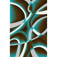 This Area Rug is artistically designed with unique colors that bring out the beauty of your room. It is one of the best selling area rugs in the USA. It is plush, soft and durable and also easy to maintain.
