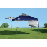 The Quik Shade Summit X offers a sturdy, reliable shade where you need it. Feature a rigid 12 x 23mm patented double reinforced frame system and Quik Release pulls pins for up to 3 height adjustments. Micro-Glide Polytetrafluoroethylene bearings make it easy to move the canopy up and down. Feature a 300D polyester top with Aluminex for 99% UV protection and pre-installed Super Vents for superior airflow.