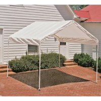 This canopy is the ideal seasonal shade solution for decks, patios or backyards. Sets up in minutes. Great for camping, picnic areas, backyard events, pool areas, commercial job sites, and much more.
