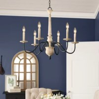 Helen 6 - Light Candle Style Classic / Traditional Chandelier
