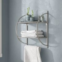 Add some additional storage to your bathroom, office, bedroom or kitchen utilizing this 17.5