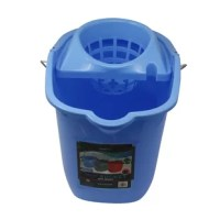 Have the floor of your home or office mopped using the Solid Plastic 16 Qt. Mop Bucket with Wringer. This plastic mop bucket is designed with the highest quality plastic to not only make easy work of the hardest jobs but last the tests of time.