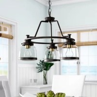 This collection features a timeless clear schoolhouse-style globe. Metal fittings add distinction to complete the vintage look. This collection provides the perfect complement to farmhouse or coastal-inspired homes.