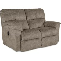 Brooks Reclining Love Seat offers a casual blend of comfort and function, with an updated look that's cleaner and less overstuffed than you'd expect. A convenient latch release on the outside arms allows you to easily adjust both backs and leg rest for personalized reclining comfort, or recline without raising the leg rest for even more comfort options. A thinner back and smaller arm posts give Brooks a modern, tailored silhouette that blends well with a variety of room styles.