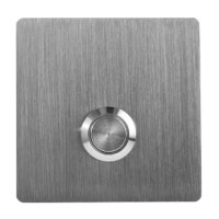 Push Button has a clean, minimalist design with a classic brushed finish. Made of solid grade 304 stainless steel, it more substantial than similar products on the market. The hidden mounting system allows for mounting on any surface without any visible screws. Comes with a stainless steel 12 volt wired push button to connect to your existing wiring. Engineered in the USA.