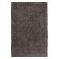 This Jacquard Dark Gray Area Rug brings timeless style and spirited design to your home décor.