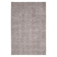 This Jacquard Cotton Light Gray Area Rug brings timeless style and spirited design to your home décor.