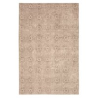 This Jacquard Ivory Area Rug brings timeless style and spirited design to your home décor.