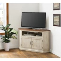 This Corner TV Stand for TVs up to 55