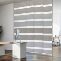 The Adjustable Sliding Panels are perfect for French doors, patio door, balcony door, closet door, and any large windows. This is also a smart choice for a room divider, which can keep a room private and stylish.