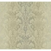 Inspired by the beautiful silk damasks and textures of grand halls and palaces in Florence and Rome, this classic wallpaper pattern is nothing short of luxurious and elegant. The soft visual textures will give a relaxed, sophisticated feeling to your traditional or transitional interior space.