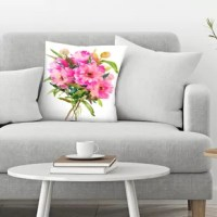 Get creative with your space using the original and beautifully designed throw pillow. Love this decorative pillow featured in your living room, bedroom or alfresco dining area. A simple and chic way to makeover any space in your home.