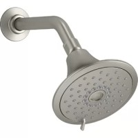 Enjoy luxurious showering combined with up to 30% water savings. This 2.5 GPM showerhead provides three distinct sprays - full coverage, pulsating massage, or silk spray - all enhanced with Katalyst technology for a completely indulgent showering experience. By infusing two liters of air per minute, Katalyst delivers a powerful, voluptuous spray that clings to the body with larger, fuller water drops.