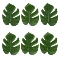 Planning a jungle themed party, a Hawaiian-inspired Tiki Bar, or just wanna add that greenery elegant touch to your wedding or event decoration? Look no further!. This placemat is your answer.
